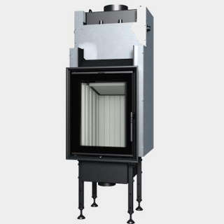 Steel energy-efficient fireplaces heating system boiler Aquatic WH 450