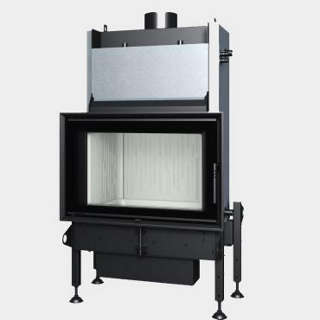 Steel energy-efficient fireplaces heating system boiler Aquatic WH 80