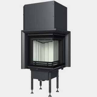 Steel energy-efficient fireplaces heating system boiler Aquatic-WH V 450 E