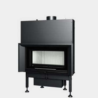 Steel energy-efficient fireplaces heating system boiler Aquatic WH V 70