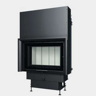Steel energy-efficient fireplaces heating system boiler Aquatic WH V 750