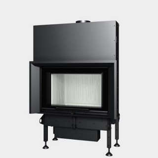 Steel energy-efficient fireplaces heating system boiler Aquatic WH V 80