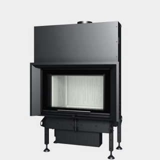 Steel energy-efficient fireplaces heating system boiler Aquatic WH V 85
