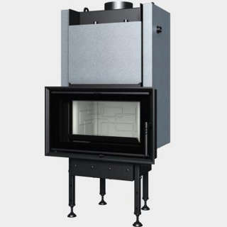 Steel energy-efficient fireplaces heating system boiler Aquatic WH 650