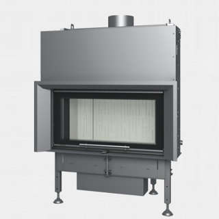 Steel energy-efficient fireplaces heating system boiler Aquatic WH V 100