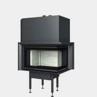 Steel energy-efficient fireplaces heating system boiler Aquatic WH V 650 CP