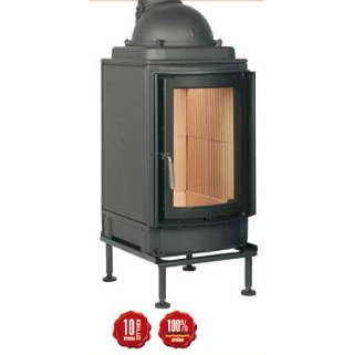 Cast-iron energy-efficient & thermodynamic fireplace HKD 2.2 r