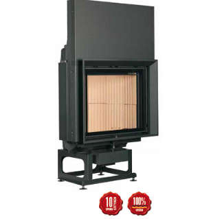 Cast-iron energy-efficient & thermodynamic fireplace RF 55.2 f