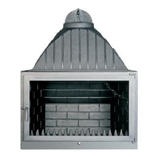 Cast-Iron Energy-Efficient & Thermodynamic Fireplace TA 800 Straight